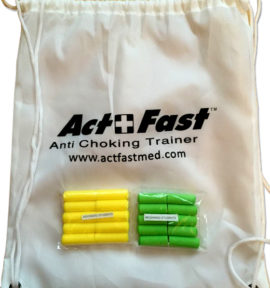 actfast anti choking trainer bag
