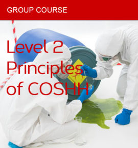 group course coshh level 2