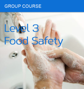group course food safety level 3