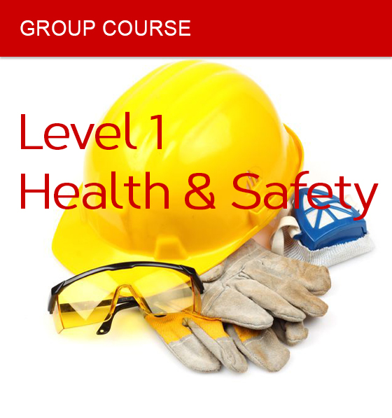 group course health safety level 1