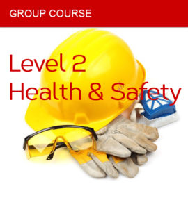 group course health safety level 2