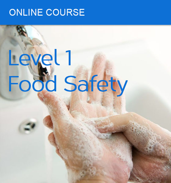 Online course food safety level 1