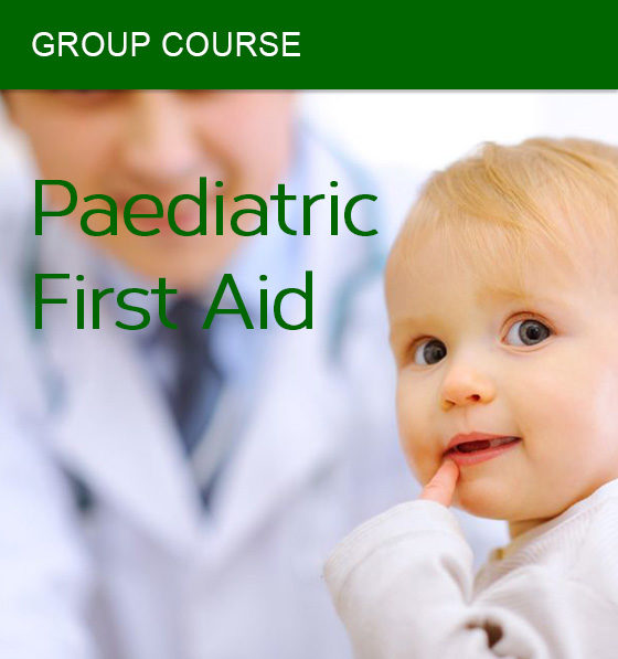 group paediatric first aid course