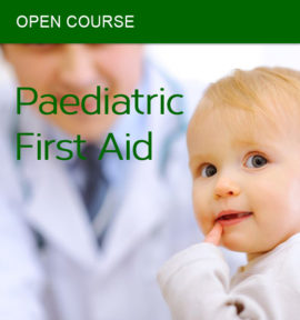 open paediatric first aid course